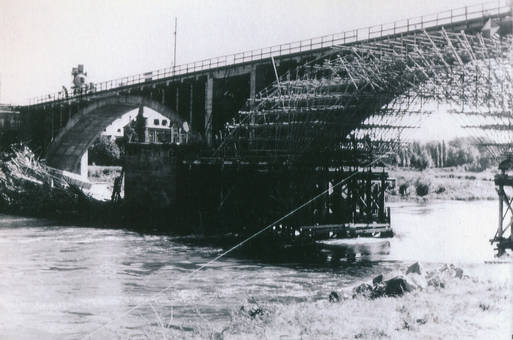 Brückenwiederaufbau