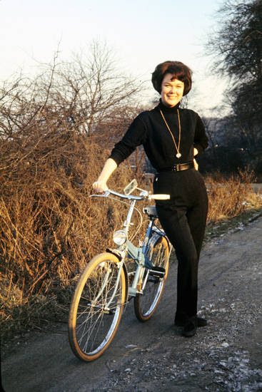 fahrrad, frisur, Frost, gürtel, Kete, mode, Raffelberg