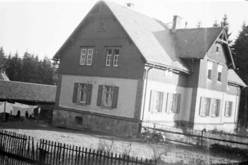 Forsthaus im Erzgebirge