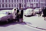 Das Brautpaar kommt an