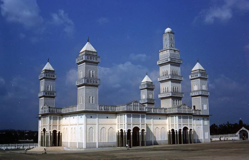 blauer Himmel, Glaube, islam, Moschee, Religion, turm