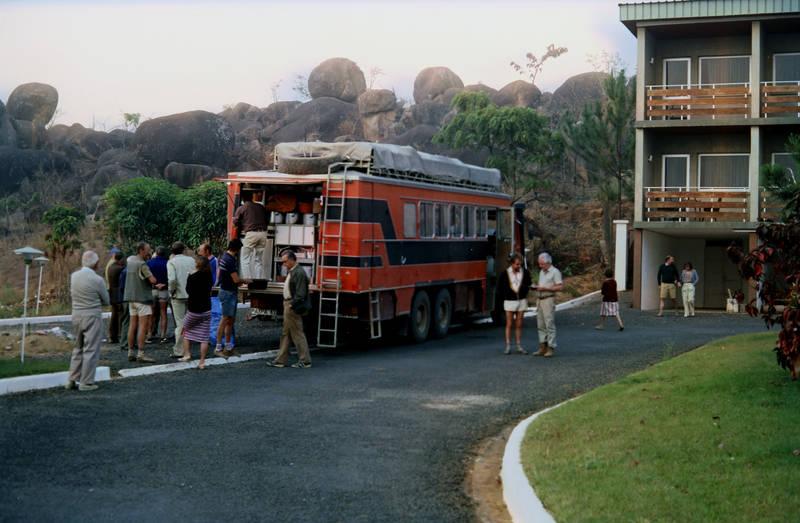 bus, Kamerun, KFZ, mode, Motel, reise, Reisebus, tourist