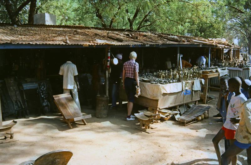 Burkina Faso, reise, Souvenir, stand, Stuhl, tourismus, Xylofon