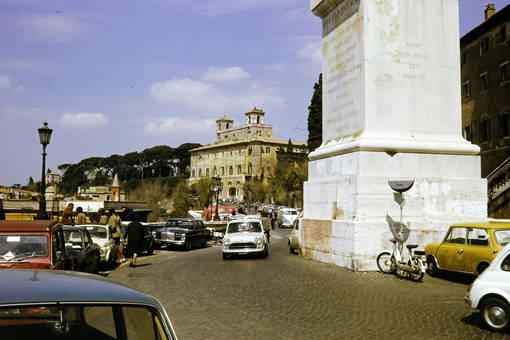 Parkplatz in Rom