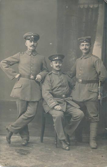 Fotoatelier, Schnurrbart, soldat, Uniform