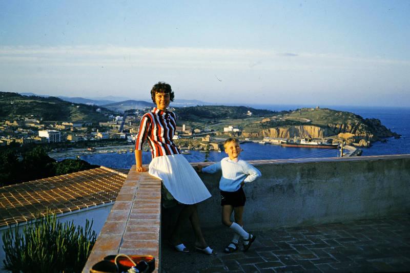 bucht, Kindheit, meer, mode, San Feliu, sandalen, Sant Elm, socke
