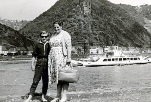 Rheinausflug 1959