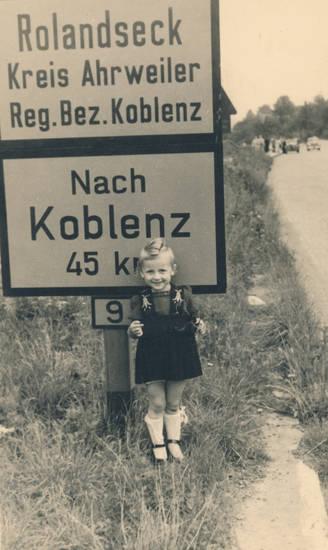 Ahrweiler, Koblenz, Kreis Ahrweiler, Ortsschild, Rolandseck, Schild, straße, straßenschild