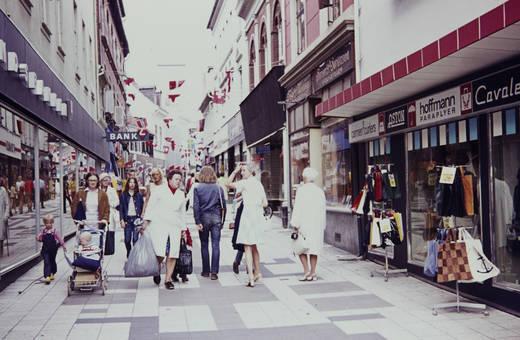 Einkaufsbummel in Dänemark