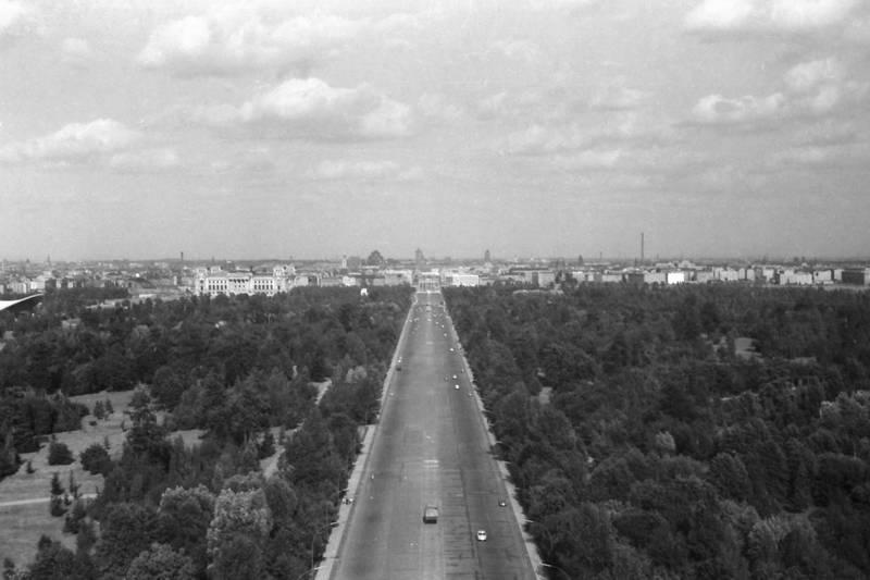 auto, berlin, KFZ, PKW, siegessäule, Straße des 17. Juni