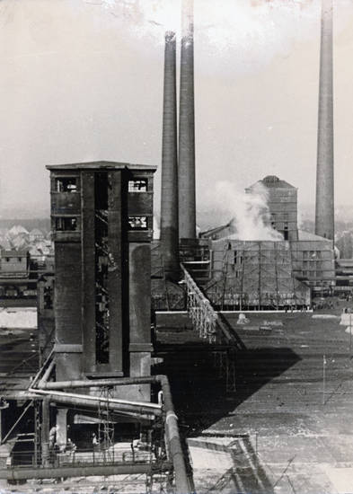 castrop-rauxel, Fabrik, fabrikgebäude, Klöckner, Rauch, Zeche
