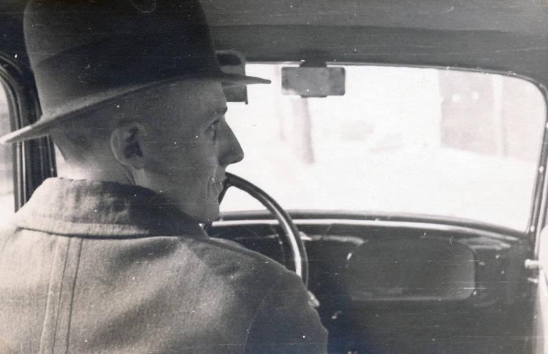 auto, Autofahrer, beifahrerseite, hut, KFZ, lenkrad, PKW, steuer