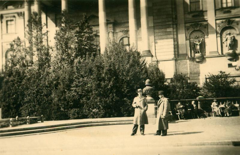 Bank, gebäude, hut, Kurhaus, kurpark, park, Wiesbaden