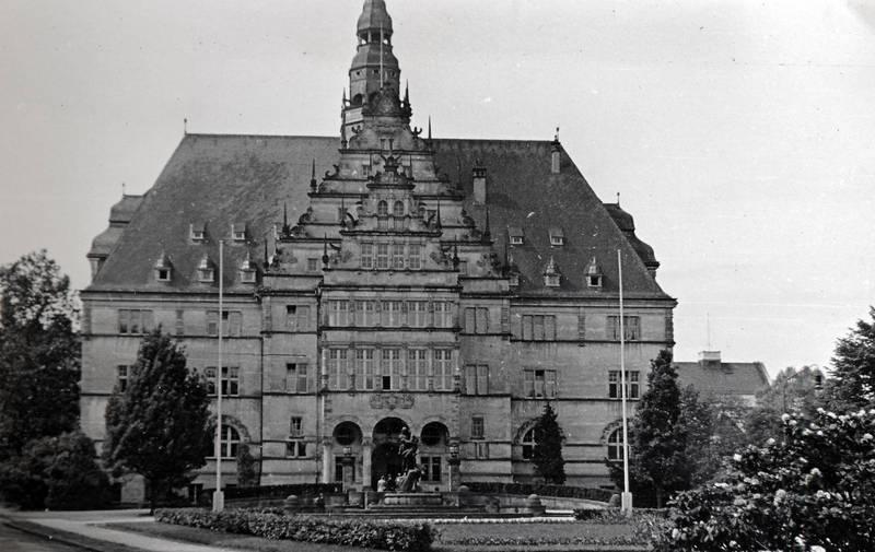denkmal, Minden, Neue Regierung, Rathaus, statue