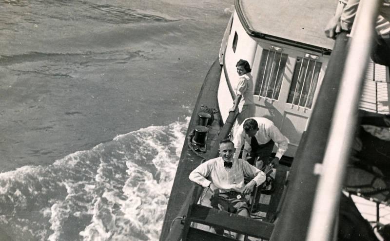 ausflug, Aussicht, fahrt, gewässer, schiff, Schiffsfahrt