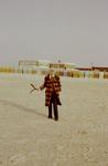 Auf der Strandpromenade