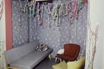 Karnevalistisches Wohnzimmer