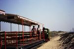 Im Zug am Strand