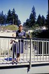 Eine Brücke in den Bergen