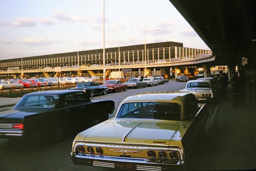 Großer Betrieb am Flughafen