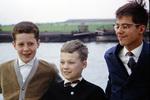Cousins auf dem Rhein
