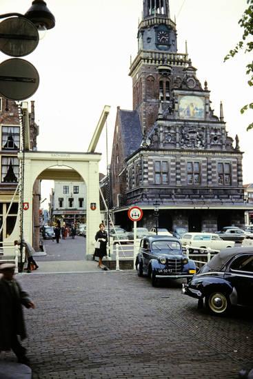 Alkmaar, auto, Bathbrug, brücke, käsemarkt, KFZ, PKW, VW-Käfer