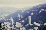 Aussicht auf Hongkong vom Berg