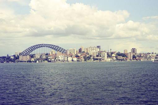 Ausblick auf Sydney