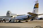 Lufthansaflugzeug in Montreal