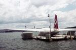 Flugzeug auf dem Wasser