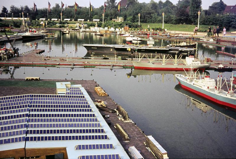 Bremerhaven, Freizeitpark, Hafen, Kindheit, Miniaturpark, minidomm