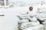 Spaß auf der Akropolis