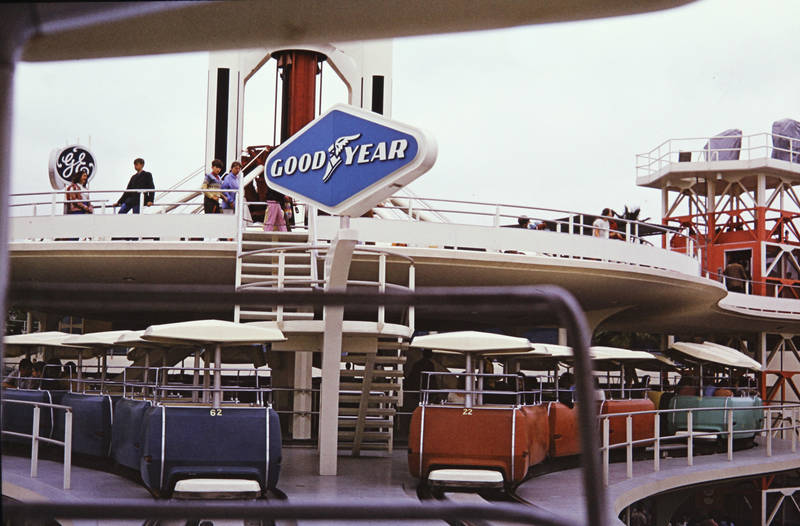 bahn, disneyland, Good Year, Goodyear PeopleMover, transport, Transportsystem