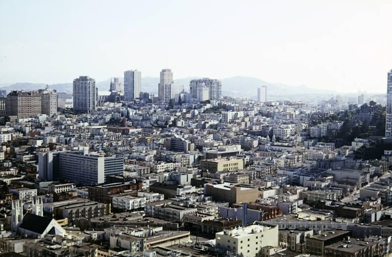 Aussicht, Großstadt, haus, Hochhaus, San Francisco