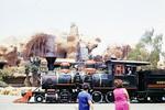 Lokomotive im Freizeitpark