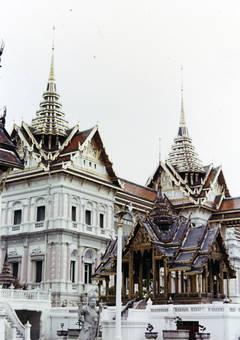 Königstempeleingang in Bangkok