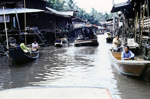 Fluss in Bangkok