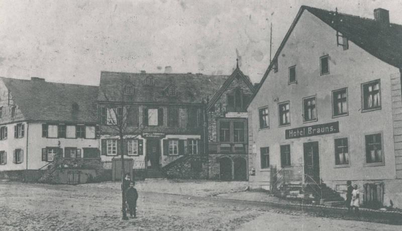 Bernkasteler Straße, haus, Hotel Brauns, Hotel Rahn, Morbach