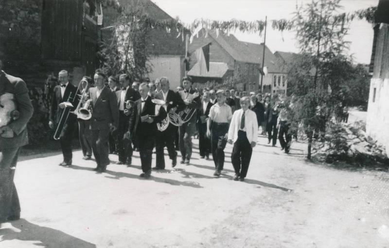 Bischofsdhron, instrument, musik, Musikverein, Umzug