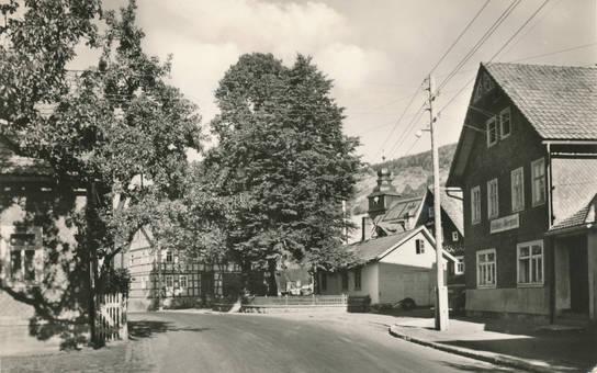 Straße in Biberschlag