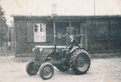 Hanomag Traktor