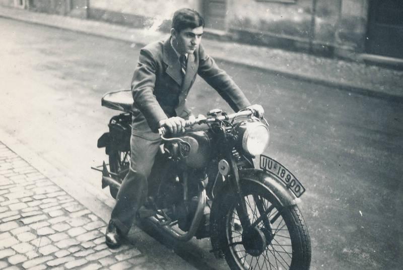 Motorrad, NSU, NSU D 251, straße, Unterfranken