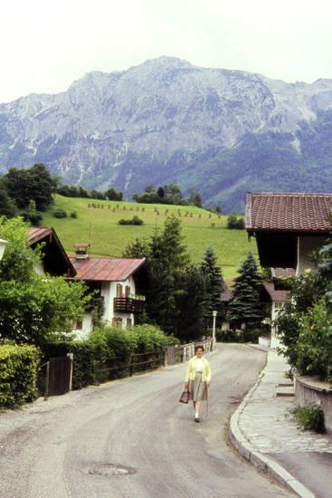 Alpen, ausflug, freizeit, frisur, Gebirge, gehstock, Haar, hahn, rock, salzburger grasberge, salzburger schieferalpen, sonnenbrille, Spaß, Tal, Tasche, urlaub