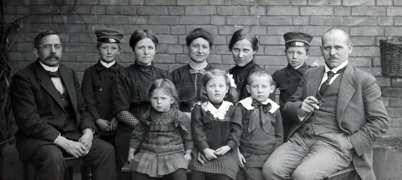 familie, Familienbild, Gruppenbild, Kindheit, mode