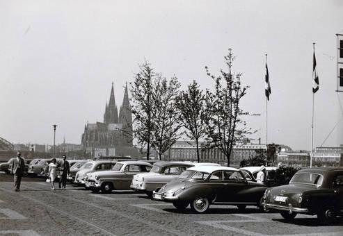 Parkplatz an der Kölner Messe