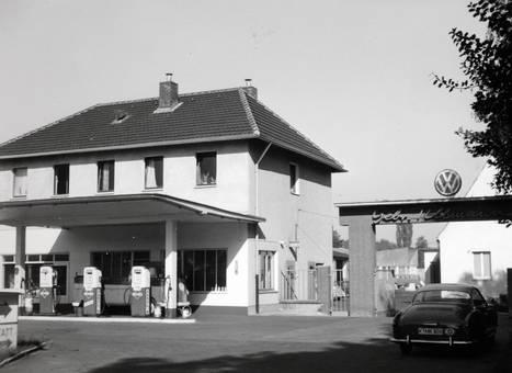 Tankstelle in Köln-Merheim