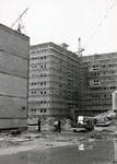 Gebäude mit Gerüst