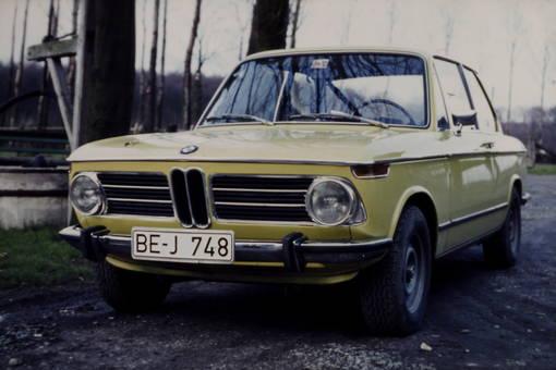 Ein flotter BMW