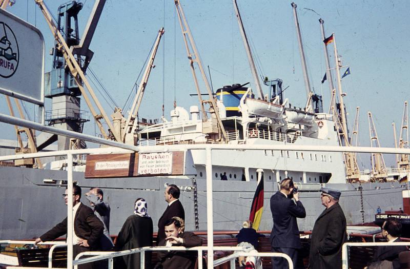 ausflug, boot, Bremerhaven, Elbe, fahne, fähre, flagge, freizeit, hamburg, in den petroleumhafen, nationalflagge, norderelbe, rauchen verboten, schiff, Spaß