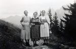 Mutter mit Krankenschwestern